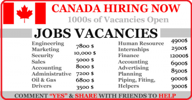 CanadaJobsFor Foreigners -