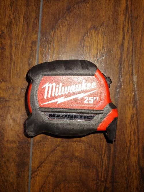 New Milwaukee Tape Measure