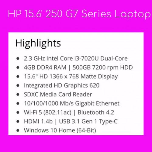 Hewlett Packard 15.6' 250 G7 Series