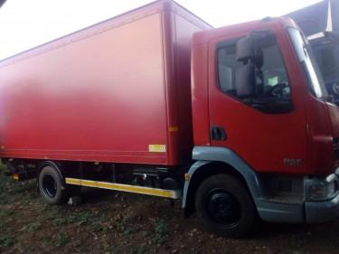 2007&2010 Leyland Daf Box Truck