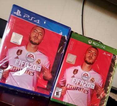 Brand New FIFA  Ps4/XBOX CDs 6500 Each