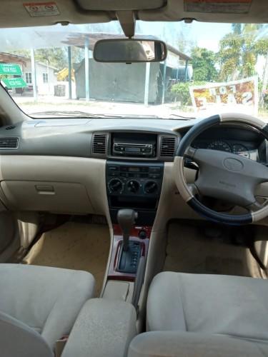 2002 Toyota Corolla Luxel