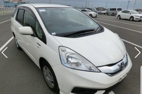 2014 Honda Fit Shuttle