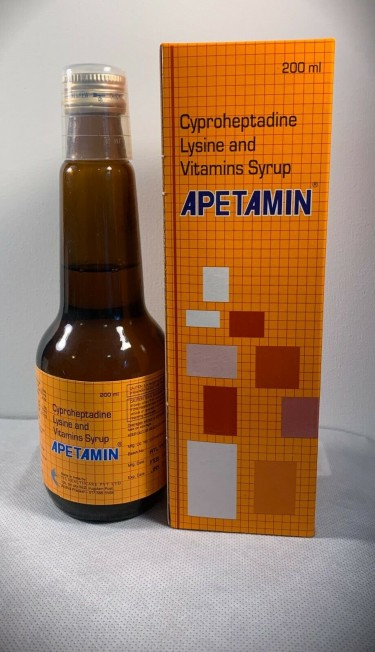 Apetamin Syrup 200ml Weight Gain