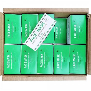 Disposable Surgical Face Mask 3ply 50 Pcs