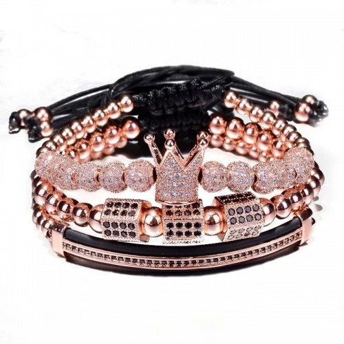 3pcs/set Luxury Charm Bracelet