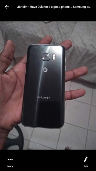Samsung Galaxy S7 , 32GB , Trading For A Note 5