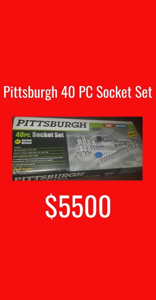 Brand New 40 Pcs Socket Set