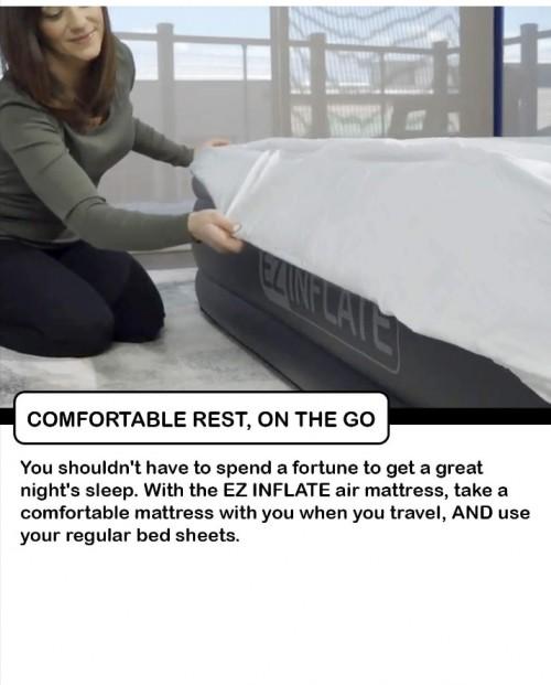 EZ Inflatable Bed (Queen)