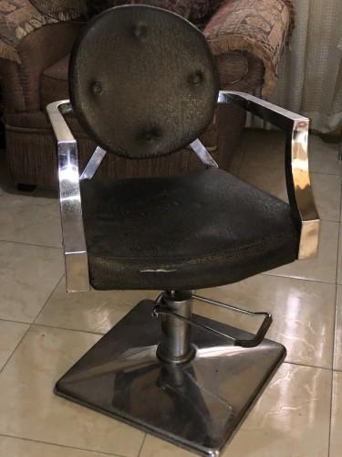 Green Salon Chair