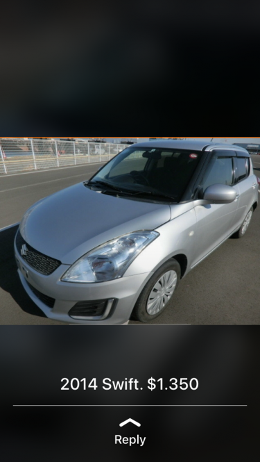 2014 New Import Suzuki Swift