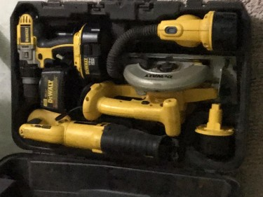 Battery Drill Set