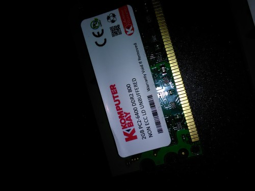 Komputer Bay 4GB Kit(2x2GB) DDR2 PC2 6400