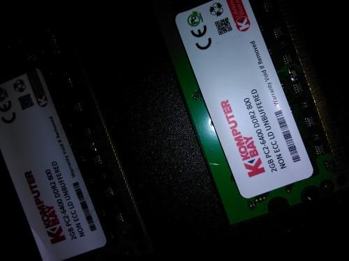 Komputer Bay 4GB Kit(2x2GB) DDR2 PC2 6400