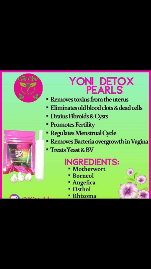 Detox Pearls Made From Natural Herbs