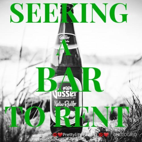Seeking A Bar Space To Rent