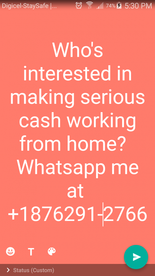 Who's Interested In Working From Home?
