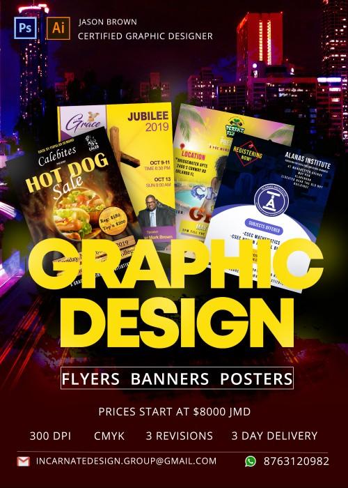 Graphic Design Entertainment All Island