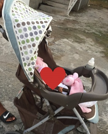 Graco Baby Stroller And Baby Bouncer