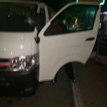2013 Toyota Hiace 18 Seat With Bus Route  Buses Buff Bay