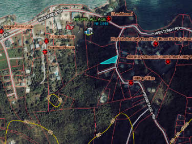 HERMITAGE, NEGRIL RESIDENTIAL LOT FOR SALE