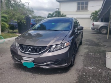 2015 HONDA CIVIC LHD