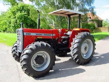 2011 Massey Ferguson 290 Tractor
