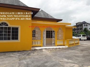 WESTGATE HILLS 1 BEDROOM 1 BATH FOR RENT