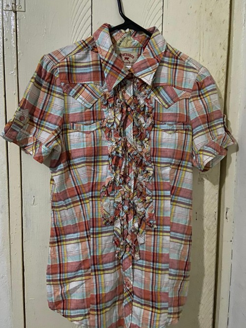Brand New Plaid Parasuco Shirt, Size M
