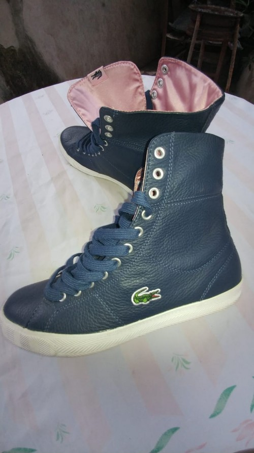Brand New Size 8, Lacoste Leather Upper Shoes