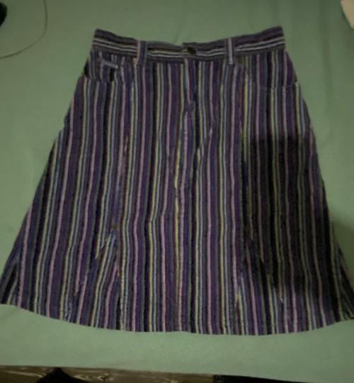 Brand New Children Place Purple Stripe Skirt