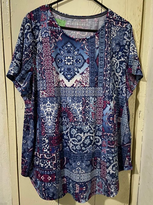 Brand New Multi Colored Shirt, Size 2X