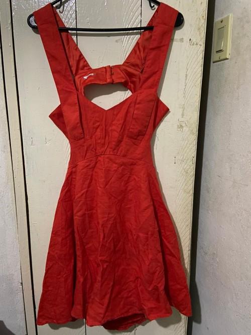 Orange Marciano Dress, Size 6.