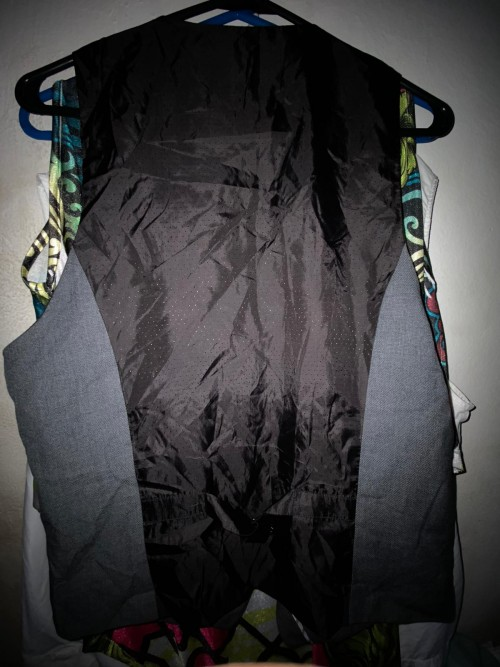H&M Gray And Black Vest, Size M.