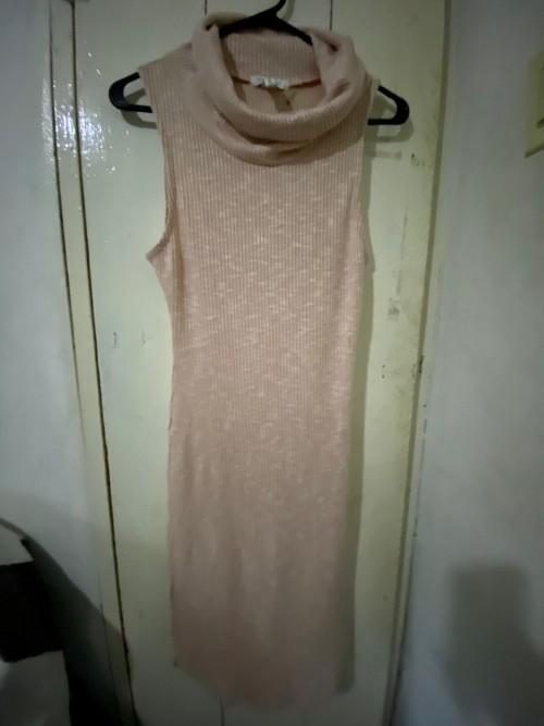 Sleeveless Turtle Neck Dress Size XL.