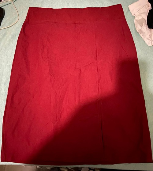 Red Size XL Skirt