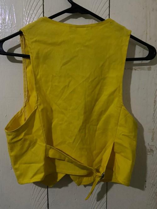 Yellow Vest, Size Large.