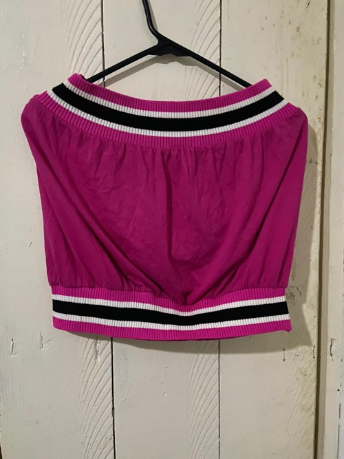 Pink Tube Top, Size Extra Large.