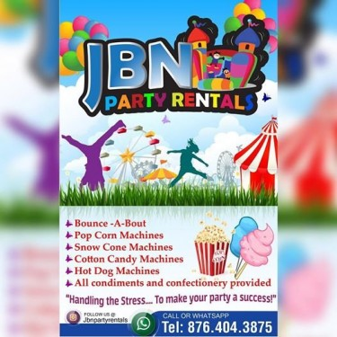 JBN Party Rentals Jamaica