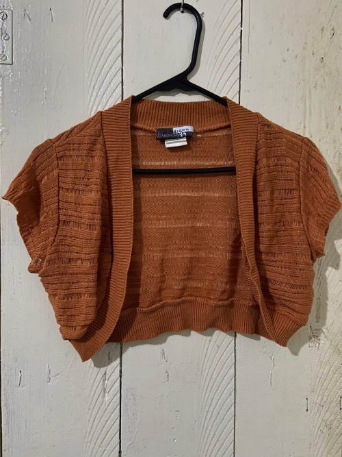 Brown Top Size XL