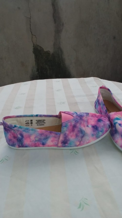Ardene Mat, Pink Multi-color Flat Shoes, Size 9