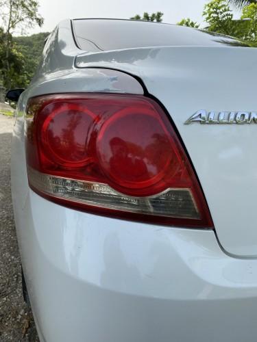 2013 Toyota Allion Backlights