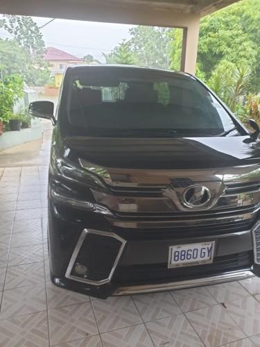 2015 Toyota Vellfire