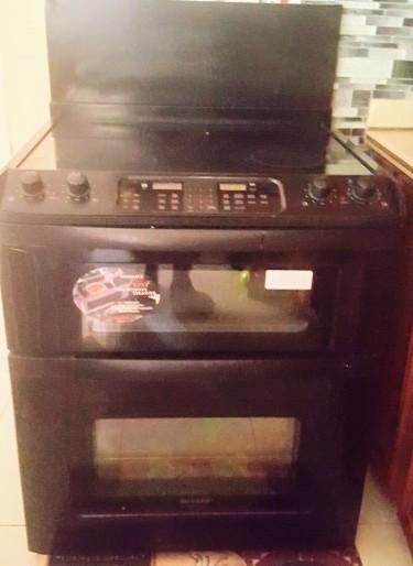 American Style Refridgerator, Electric Stove