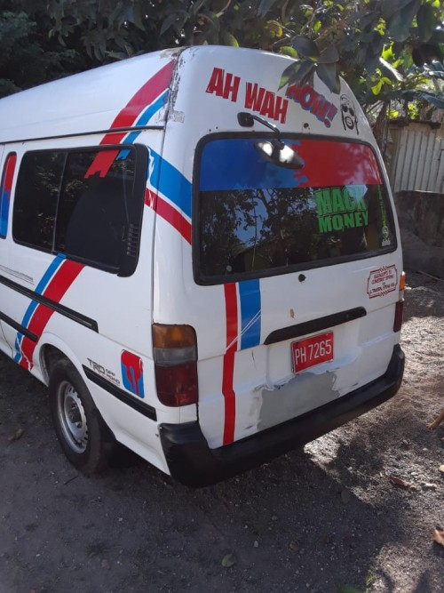 2001 Toyota  Hiace For Sale High Top 630 Final