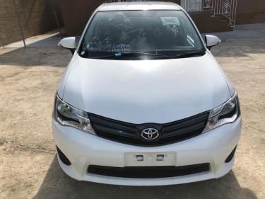 2014 Toyota Axio Cars Constant Spring
