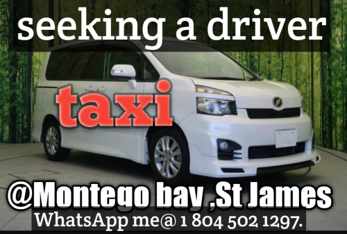 Seeking A Driver In The Montego Bay Area , St Jame