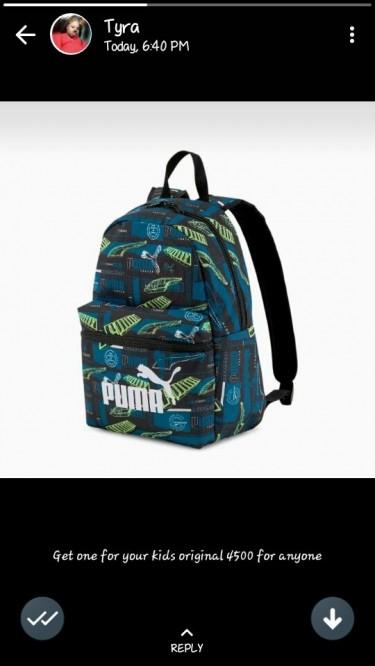 Puma Bags For School
