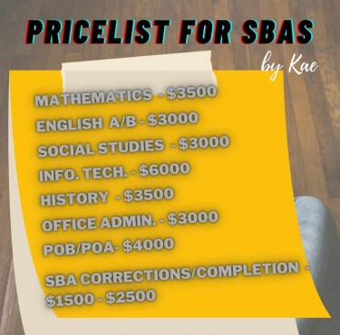 SBA Completion Service!