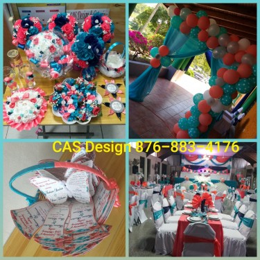 Wedding Cake Boxes, Bouquets, Corsages, Decor Etc Decorations Wedding Items & Decor Anywhere In Jamaica